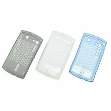 Soft TPU Silicone Skin Case For Acer Neo Touch S200 F1 Blue Clear Gray