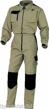 Delta Plus Panoply M5COM Mach Spirit Beige Work Overalls Coveralls Boilersuit