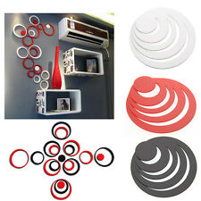 1× 3D Circles DIY Art Wall Stickers Indoor Room Wall Home Decor Removable