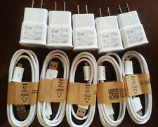 ORIGINAL OEM Quality For Samsung Galaxy S4 USB Data Cable + Home / Wall Charger