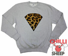 DIAMOND LEOPARD New Sweatshirt Bling Dope YMCMB Fresh Swag Dis Obey Unisex Sweat