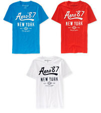Mens Aeropostale T-Shirt Sizes M, L, XL, 2XL, 3XL NWT EMBROIDERED Original NEW