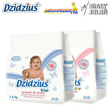 DZIDZIUS / BABY - HYPOALLERGNIC WASHING POWDER - WHITE AND COLOUR - 1.5KG