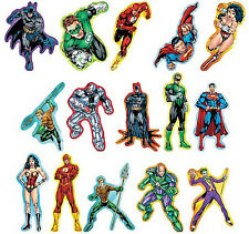 Justice League America DC Comics Decal Stickers Complete Sets of 15