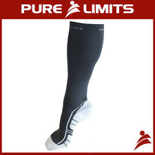 Pure Limits Reinforced Unisex Woven Compression Socks - CrossFit Mens Womens
