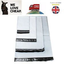 ALL SIZES Extra Strong Plastic Mailing Post Poly Postage Postal Packaging Bags