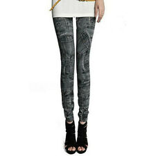 Women Skinny Denim Jeans Sexy Leggings Jeggings Tights Stretch Pants Trousers