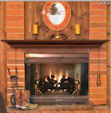 Pearl Mantel Homestead fireplace mantel shelf. Pick size, finish. Or as TV shelf
