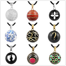 Mexican bola pendants Chime Ball Belly Necklace Silver Pregnancy Harmony Ball