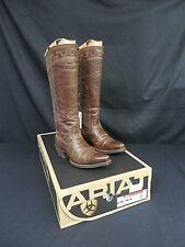 Women's Ariat Sahara Tall Western Fashion Boot, Sassy Brown- NEW w/tags!