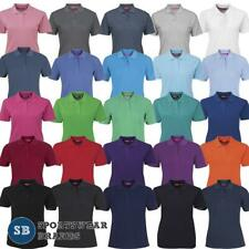 Ladies Polo Shirt Top Casual Size 8 10 12 14 16 18 20 22 24 Sport Womens 2LPS
