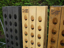 Champagne Riddling Rack f. 30 Wine Bottles with nice Branding *different colors*