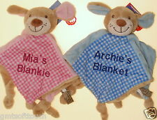 Personalised Comfort Blanket, blankie, New baby gift,  shower gifts, Girl, Boy