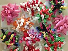 Gymboree GROSGRAIN RIBBON hair clips CURLY, RIC RAC, other styles & designs
