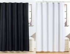 STUNNING DIAMANTE GLITTER SHOWER CURTAINS - BLACK & WHITE AVAILABLE