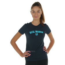 Brand new Adidas Real Madrid t-shirt womens tee top licensed product  FREE P&P