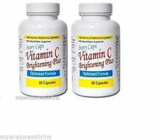 IvoryCaps Vitamin C Skin Whitening Lightening Pills (pack of 2)
