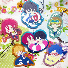 Free! Anime Swimming Club Iwatobi Rubber Strap * 1 pcs Summer Swim Ver.