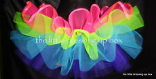 Multi Coloured Puff Ball Fabulously Frilly Full TuTu  XS S M L Hens Goth Punk