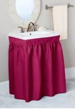 MAYFIELD SINK SKIRTS - FABRIC - ASSORTED COLORS
