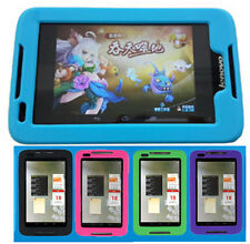 """Soft Silicone Rubber Gel Skin Back Case Cover for 7"""" Lenovo A1000 ideaTab+Gift"""