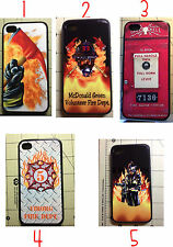 Firefighter iphone 6 & 6 Plus, 5  Hydrant Ax Fire Engine Fire Dept Your Badge #