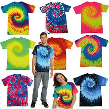 TIE DYE HEAVY WEIGHT T SHIRT ★ Rainbow Festival Shirts Tye tees tee t-shirts top