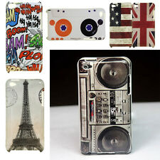 Multi-pattern Hard Skin Back Case Cover For Apple Ipod Touch 4 4TH Gen