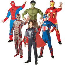 The Avengers Men's Costume M L Xl Hulk Thor Spiderman Captain America Iron Man 3