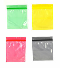 grip coloured sealed bags 5cm x 5cm button resealable weed baggy tobacco 50x50mm. Black Bedroom Furniture Sets. Home Design Ideas