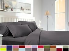 CLARA CLARK SUPREME 1500 COLLECTION DEEP POCKET 4 PIECE BED SHEET SETS