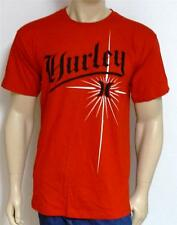 Hurley One & Only Tatty Mens Regular Fit Red T-Shirt NWT