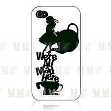 Disney Alice in Wonderland MAD Hard Case Cover for Iphone 4 4s 5 5s 5C 6 + iPod