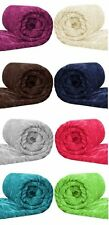 Luxurious Extra Large Super Soft Faux Fur Mink Throws, Sofa / Bed Blanket
