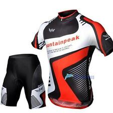 2013 HOT Cycling Bicycle BIKE Comfortable outdoor Jersey + Shorts size S- XXXL