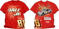 Dale Earnhardt Jr 2014 Checkered Flag #88 National Guard Electric Tee FREE SHIP