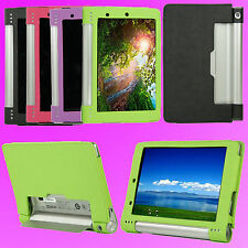 """Protection Case Cover PU Leather for 8"""" Lenovo Yoga Tablet 8 B6000    F150"""