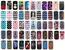 For Samsung Galaxy Light T399 New Colorful Designs Snap On Hard Cover Phone Case