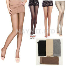 Women Lady Girl Open Toe Thin Transparent Thigh High Pantyhose Tights New Hot JC