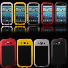 Aluminum Gorilla Glass Metal Case For Samsung Galaxy S3 S4 Rain Water Shockproof