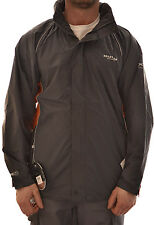 REGATTA EARTHWORK MENS JACKET WATERPROOF LIGHTWEIGHT ISOLITE SEAL GREY MW269 D2