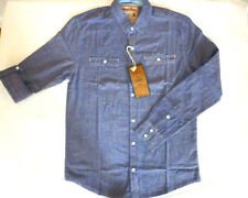 MENS DESIGNER SLIM FIT SUMMER SHIRTS ROLL UP SLEEVE BY SOUL STAR  RRP £24.99