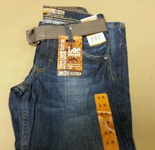 Lee Boy's Blue Bayou Dungarees Relaxed Bootcut Jeans Size 8 10 12 14 16 18 R