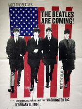 "New! The Beatles ""Beatles Are Coming"" Classic Rock Band Licensed Adult T-Shirt"