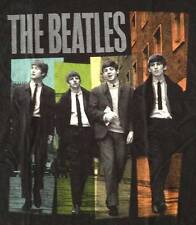 """New! The Beatles """"Black Ties"""" Classic Rock Band Licensed Tour Adult T-Shirt"""
