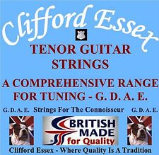 TENOR GUITAR STRINGS. G D A E TUNING. HEAVY, EXTRA HEAVY AND ULTRA HEAVY GAUGES.
