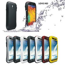 Aluminum Metal Gorilla Waterproof Case Cover For Samsung Galaxy Note 3 Love Mei