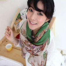 Stylish Girl Ladies Women Paisley Scarves Air-conditioned Room Shawl Neck Wrap