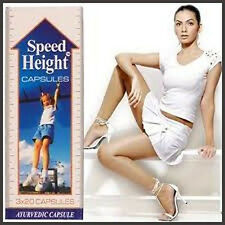 SPEED HEIGHT 100% Herbal Capsule for Increases Height Natural to Way best result