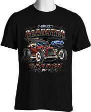 Vintage Hot Rod Retro Ford 1923 T Bucket Roadster Mens Size S to 3XL Big & Tal